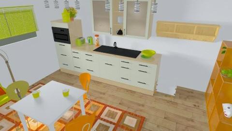 Funky kitchen - Kitchen - by DeeTom