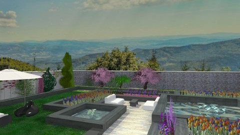 Spring Garden - Garden - by Elaenerys