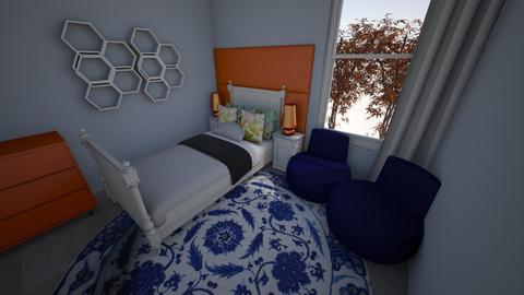 pokoj - Bedroom - by pasja_