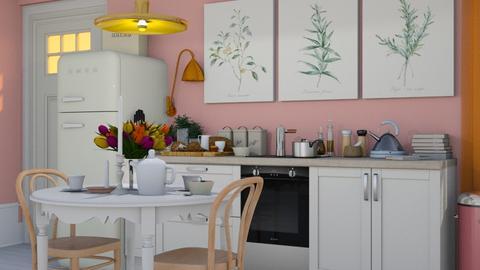 Pink Kitchen - Vintage - Kitchen - by HenkRetro1960