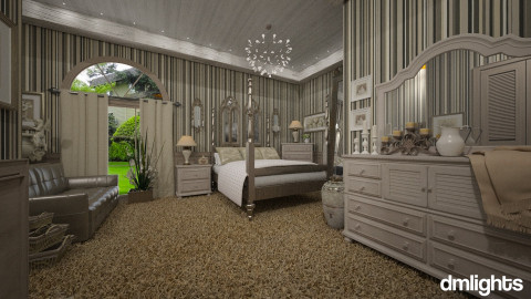 Colonial Suites - Vintage - Bedroom - by DMLights-user-981898