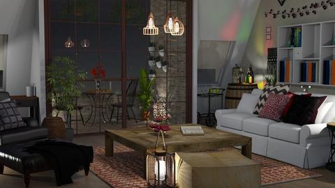 bohemian - Living room - by elyssaumber