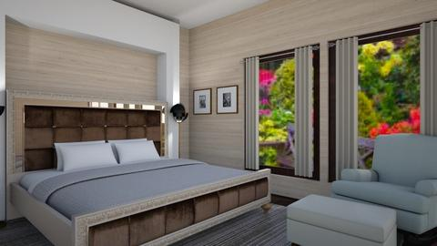 The Bachelor - Bedroom - by Caye