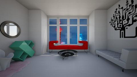 Template Baywindow Room - Living room - by bleeding star