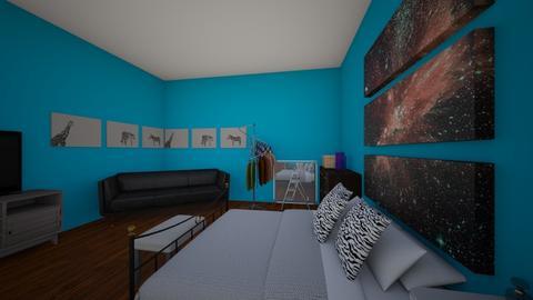 bedroom - Retro - Bedroom - by paiten batterson