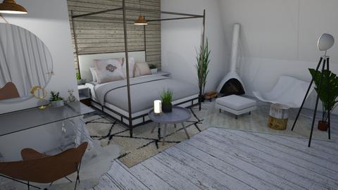 Wood - Bedroom - by LillMiaaa