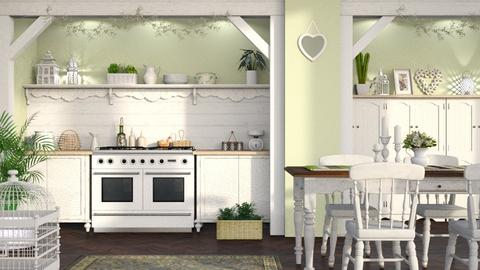 Shabby Chic Kitchen - Kitchen - by LB1981