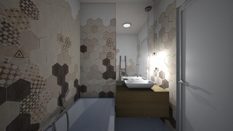 house Grozavesti - Modern - Bathroom - by cosettevis