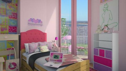 sweetie - Kids room - by Pilita Jabers