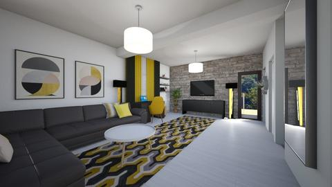 Alina Mocanu Living - Modern - Living room - by Flori Santa