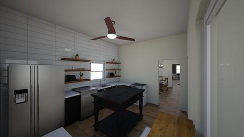 HOUSE - Kitchen - by clevede