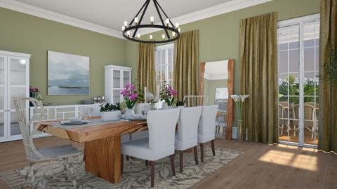 Hello Spring - Dining room - by mire roig