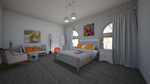 N41 - Modern - Bedroom - by TeodoraYord