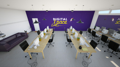 Digital Space HQ - by andiavie