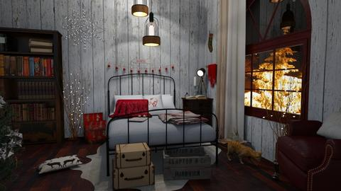 xmas - Bedroom - by Valerie Meiner