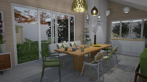 Dining room - Modern - Kitchen - by Annathea