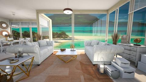 water front - Living room - by Moonpearl
