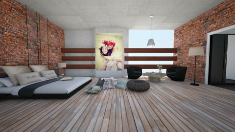 bedroom - Minimal - Bedroom - by naominaomi