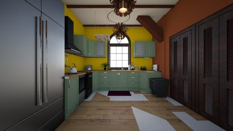 Kitchen 2 - Rustic - Kitchen - by oobry82