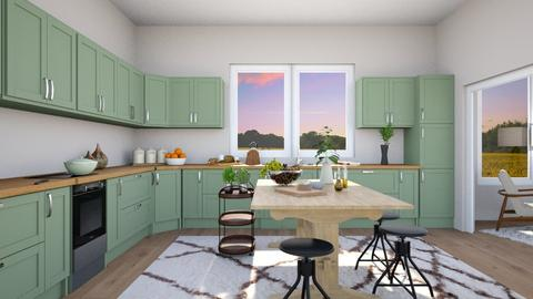 MCM Kitchen - Kitchen - by Yate