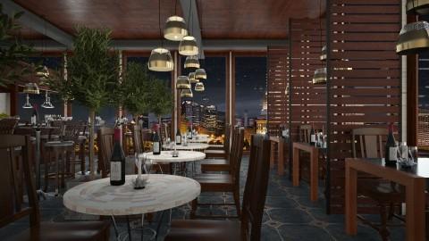 Design 268 Urban Wine Bar - Dining room - by Daisy320