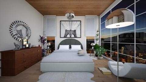 bedroom  - Modern - Bedroom - by swanwitch
