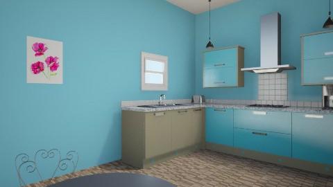 paris tiny kitchen - Kitchen - by grace meiner