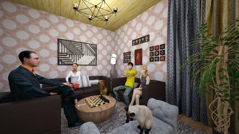ojaxi - Living room - by Lilia Cherenkova