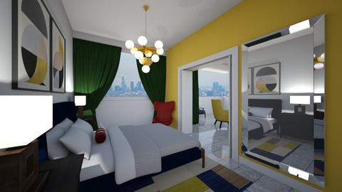 LA Condo - Modern - Bedroom - by deleted_1565009666_athinaste