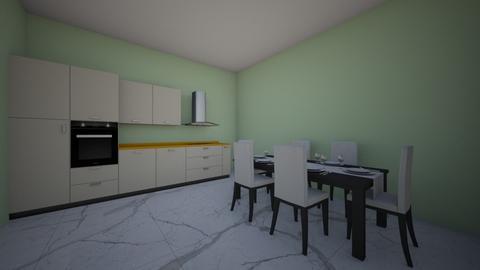 Dream Kitchen - Modern - Kitchen - by ilovedogs519