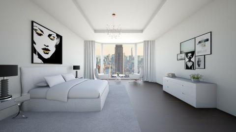 BEDROOM - Modern - Bedroom - by luciajaimedc