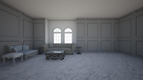 Silver Day Dreams - Glamour - Living room - by rcrites457