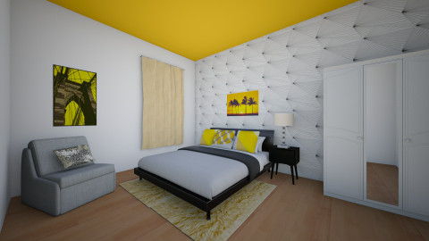 Yellow - Bedroom - by kck22