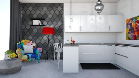 f - Kitchen - by TeodoraYord