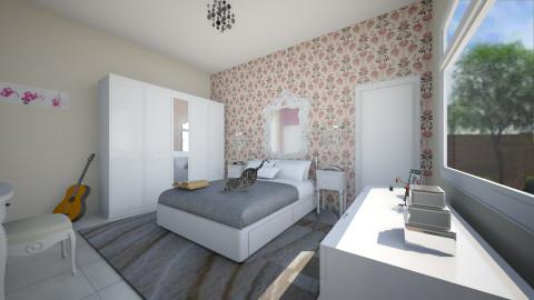 quarto Vallery - Feminine - Bedroom - by kellassuncao