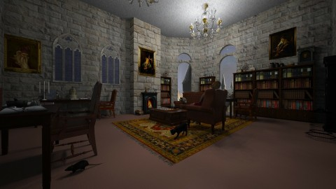 Hogwarts Staff Room - by Berry258