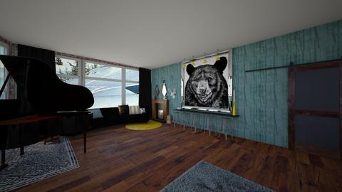 rumpous room - by kerryhornsey