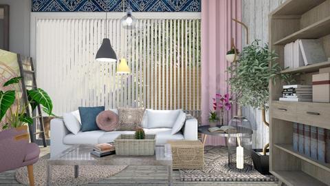 Boho LivingRoom - Living room - by KimAlys