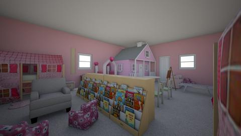 Little Sisters Dream Room - Kids room - by alkhlasdk