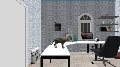 Artsy sewing room - Office - by Savage_Unicorn0307