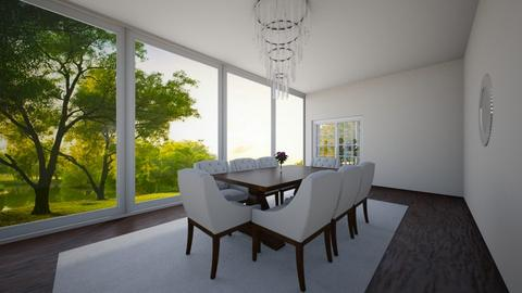 Dream Home_Dining Room - Country - Dining room - by ayeshxhoney