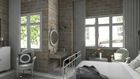 Stone wall - Classic - Kitchen - by Tuija