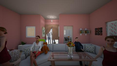 Brianna room - Bedroom - by lildivajo
