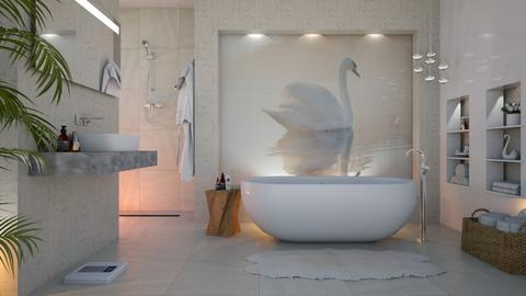 Swan bathroom - Feminine - Bathroom - by VALKHAN