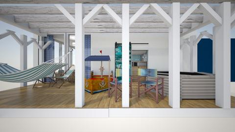 Poseidon s child cabin - Bedroom - by ilici