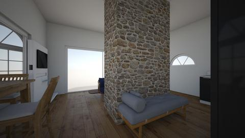 alpine home - by Katiaboem