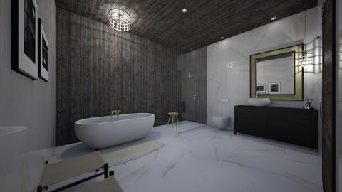 marblellous bathroom - Bathroom - by erladisgudmunds