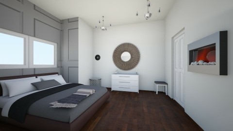 Modern interior - Bedroom - by rachel_voke