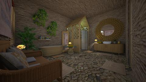 urban jungle - Bathroom - by daydreamer84