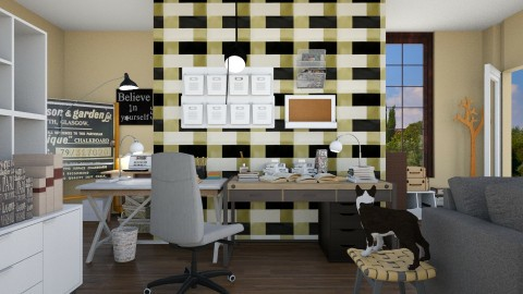 home office - by ZuzanaDesign